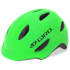 Giro Scamp MIPS Casque Enfant, green/lime lines